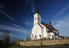 Kostel sv. Ignáce na Borové v novém