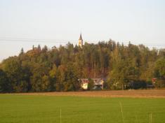 Stará a nová tvář kopce Borová s kostelem sv. Ignáce