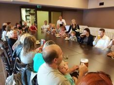 Slavnostní zahájení provozu zastávky Malenovice - Božoň